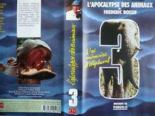 Vhs   L'APOCALYPSE DES ANIMAUX  N°3   Vangelis  Fréderic Rossif