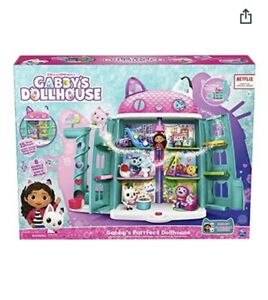 NEW Gabby's Purrfect Dollhouse w/ 15 Pieces Including Toy Figures & more!
