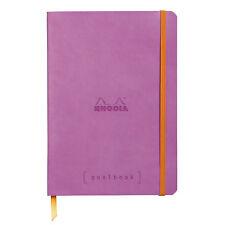 Rhodia Goalbook Journal - Lilac - Dot Grid - A5 Size - 5.75 x 8.25 - NEW R117751