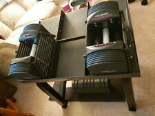 POWERBLOCK COMMERCIAL PRO 50 10-50 lbs SET of Two With Stand New In Box