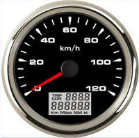 85mm GPS Speedometer Gauge 0-120 KM/H Odometer For Boat Car Truck Motorcycle ATV