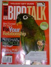 **BIRD TALK MAGAZINE Nov 08 Pionus PDD Virus Diabetes Rehab Old Cage Herbs