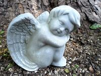 "Latex angel mold plaster concrete mould 5""H x 4"" x 4"""