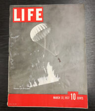 LIFE Magazine, March 22nd 1937