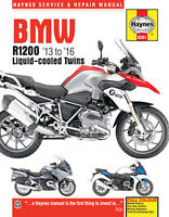 Bmw R1200 '13 To '16 Liquid-Cooled Twins Haynes Service Shop Repair Manual
