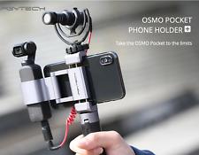Pgytech Phone Holder Plus For Dji Osmo Pocket Aluminum Fixing Bracket Mic Adapt