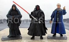 Star Wars Episode 1 Darth Sidious Senator Palpatine & Darth Maul Tatooine 3.75""