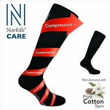 Mild Compression Care Socks for Tired or Swollen Legs By Norfolk - NRGSOX