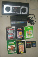 ATARI 2600 JR LOT, VIDEO SPORTS PONG CONSOLE, PAC MAN, SPACE INVADERS
