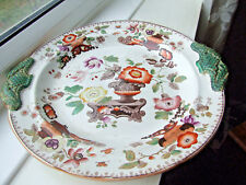 Antique Large Earthenware Charger stamped 'Saxon China'