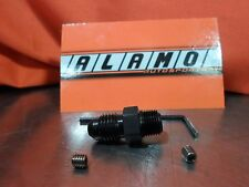 """Vibrant 10289 BLACK Oil Restrictor Fitting -4ANx1/8"""""""