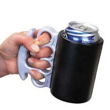 Brass Knuckles Drink Kooler Can Koozie Gag Gift