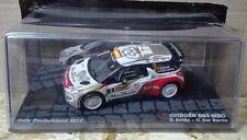 "DIE CAST "" CITROEN DS3 WRC RALLY DEUTSCHLAND 2013 D. SORDO "" SCALA 1/43"