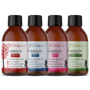 Kitama Massageöl Liebesöl 250ml für Erotik Massage Partnermassage Tantra Öl