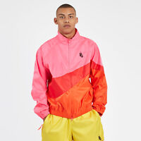 Nike NikeLab NRG Heritage Jacket AA1569-604 Pink Red Essentials Mens Size Large