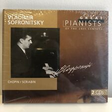 GREAT PIANISTS OF THE 20th CENTURY Vol 91 Vladimir Sofronitsky Chopin Scriabin