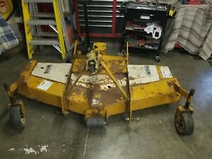 Woods 3-Point Hitch 6 Foot Finishing Mower Model# RM660-1 Frontiner King Kutter