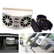 High Efficiency Dual Fan Car Front Rear Window Air Vent Solar Cool Cooler Fans K