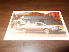 1977 Buick Skylark Vintage Advertising Postcard