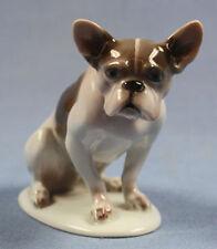 französische Bulldogge  hundefigur porzellan  rosenthal figur dogge 1926