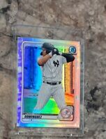 JASSON DOMINGUEZ 📈🔥 2020 Bowman Chrome Silver Refractor Yankees Rookie RC NICE
