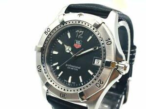 TAG HEUER Watch 2000 WK1115 Men's  Quartz St.Steel Date   T2930