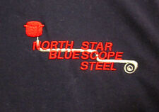 NORTH STAR BLUE SCOPE STEEL pullover XL Australia NEW embroidery industrial