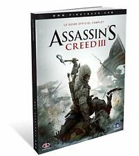 Assassin's Creed III 3, Le Guide Officiel  NEUF SOUS BLISTER FR