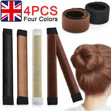 4pcs Hair Bun Maker Updo Wrap Fold Snap French Style Hair Magic Styling Tool TOP