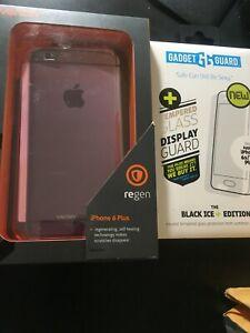 Ventev Regen i-phone6 Plus-Pink w/ Gadget Guard Tempered Glass