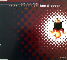 Jam & Spoon Maxi CD Right In The Night (Fall In Love With Music) - Europe (EX/M)