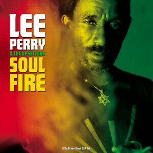 LEE PERRY & THE UPSETTERS Soul Fire 2LP GREEN VINYL NEW + SEALED