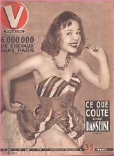 ▬►V MAGAZINE 368 de 1951 PIN UP COLETTE RITZ_DESSINS MICHA