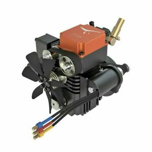 4 Stroke RC Engine Gasoline Model Engine Toyan StartingKit Motor For RC Car Boat