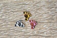 Baby Feet MULTICOLOUR 10X10mm 100pcs Flatback Acrylic Resin Jewel