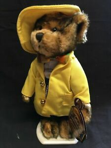 "new Brass Button Bears ""Mookie"" 1930's 20th Century Collectibles Bearington 14"""