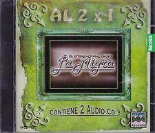 Grupo La Migra Al 2x1 Contiene 2CD New Nuevo Sealed