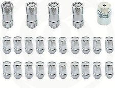 Wheel Lock Kit Chrome - 1999-2015 various Chevrolet GMC Cadillac Buick 12451945