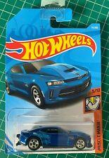 Hot Wheels 2018 Copo Camaro SS Blue Muscle Mania Number 71 New and Unopened