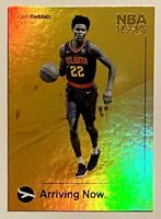 2019-20 NBA Hoops CAM REDDISH Gold Holofoil Rookie Refractor, SP RC, Hawks, Duke