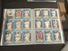 Swansea City Match Attax 17/18 Trading Cards Full Team Including Badge