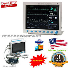 Portable 8000 Medical Patient Monitor 6 Parameter Icu Vital Sign Cardiac Machine
