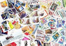 ICELAND Nice lot of 200 gram kiloware stamps on paper 800+ stamps