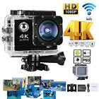 "4K 16MP WiFi V3 1080P Waterproof 2"" LCD HD Sports Action Camera Camcorder N5L8"