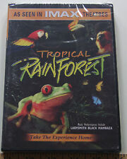Tropical Rain Forest  As Seen In IMAX Theaters  Take The Experience Home  New!