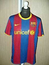 BARCELONA F.C NIKE Football shirt jersey adult HOME 2010 (L)
