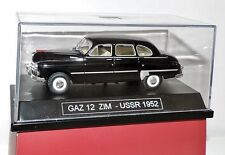 neu Modellauto GAZ 12 ZIM, schwarz 1:43, USSR, DDR, OST-Block