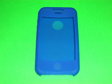 BLUE SILICONE CASE SKIN COVER FOR APPLE IPHONE 3G