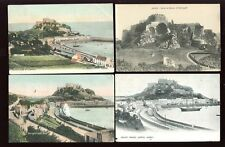 Channel Islands JERSEY Gorey Mont Orgueil Castle 7 PPCs