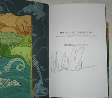 MAPS AND LEGENDS - Michael Chabon (2008) NEW SIGNED 1st WITH DODDLE